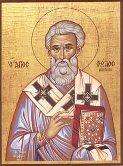Sfantul Patriarh Fotie cel Mare al Constantinopolului