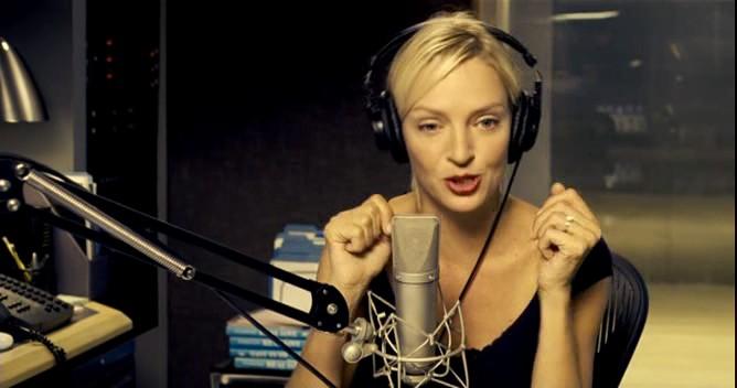 femeia de radio