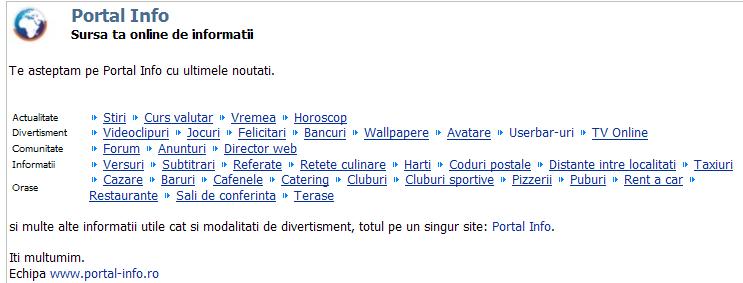 Portal Info
