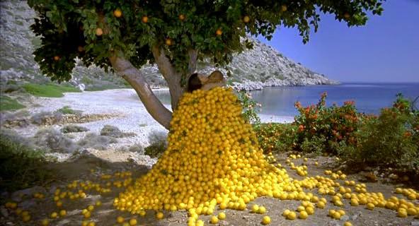 sarutul de sub portocal
