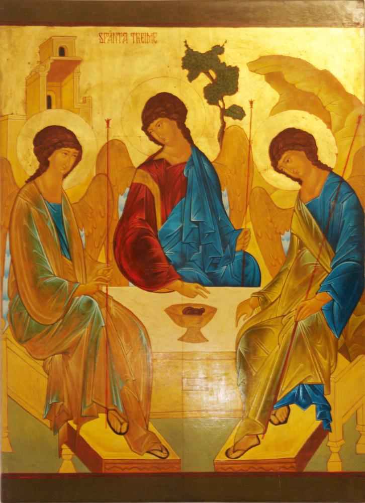 Prefigurarea Sfintei Treimi