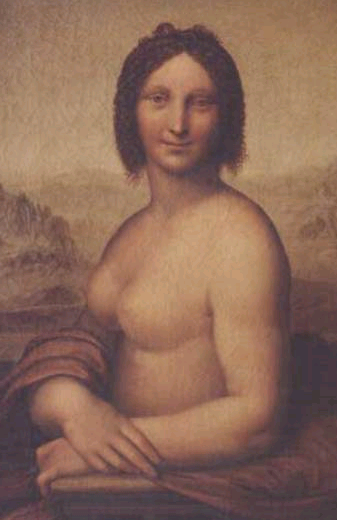 Mona Lisa in varianta nud