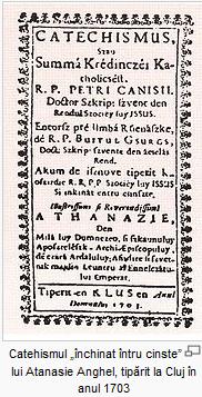 Catehismul cu grafie maghiarizanta