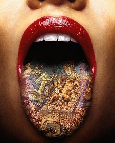 limba tatuata