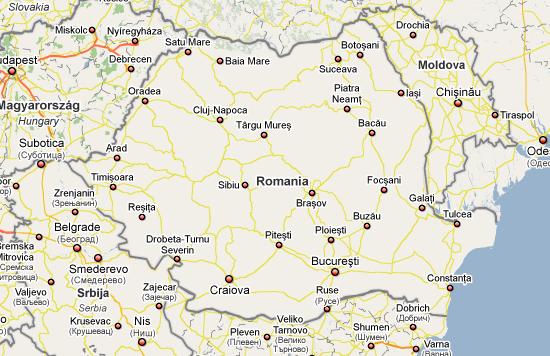 Romania lui Google