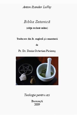 Biblia satanica, RO
