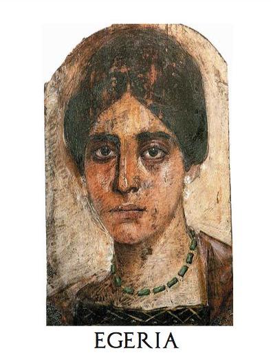 Egeria, autoarea scrierii