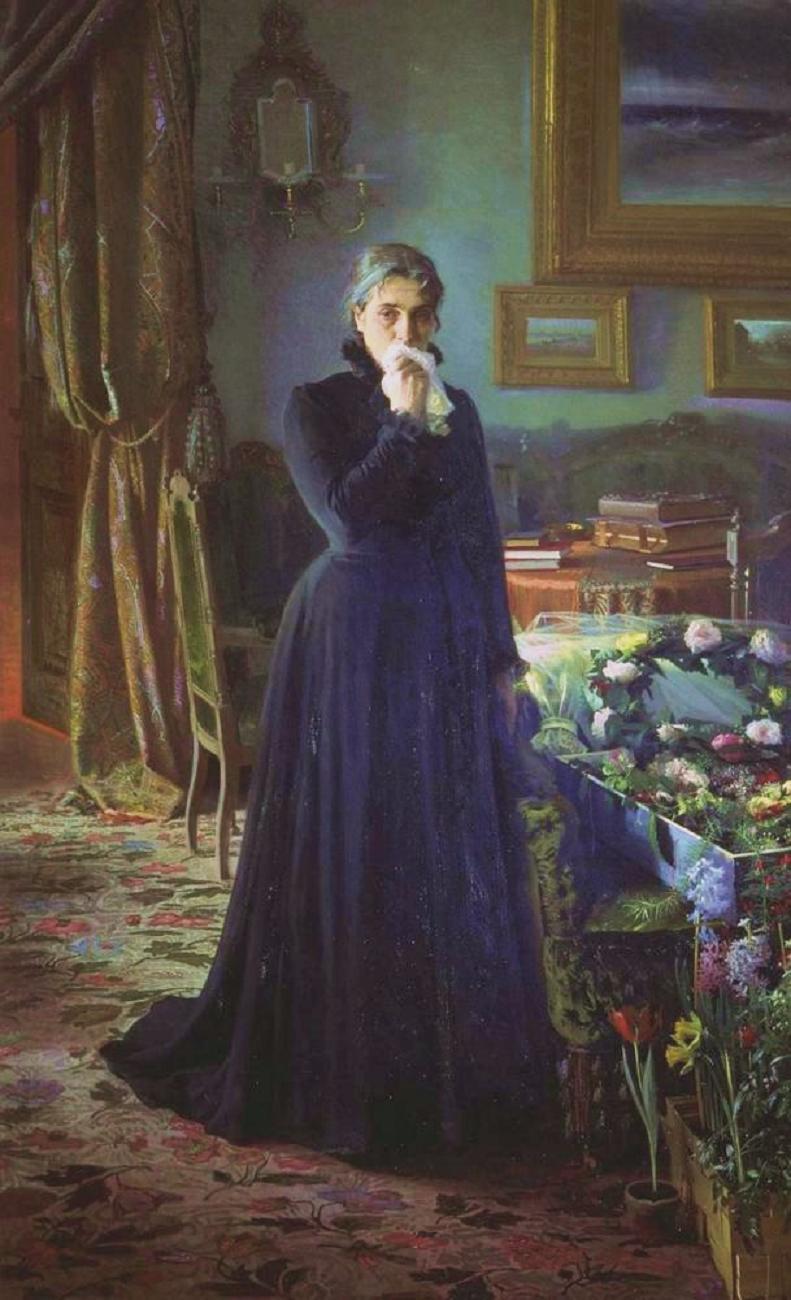 ivan-kramskoi-unconsolable-grief-1884