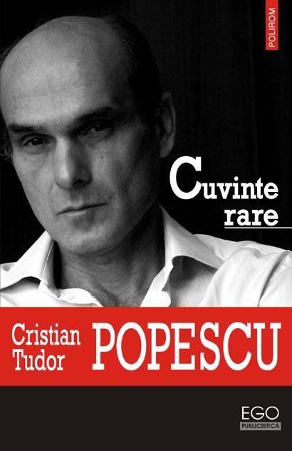 Cristian Tudor Popescu, Cuvinte rare