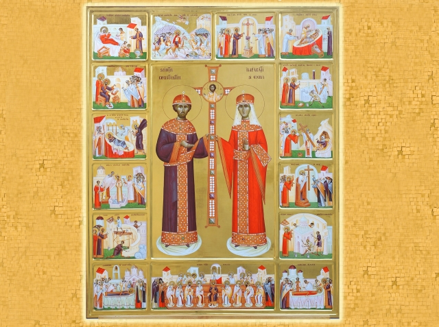 Sfintii Imparati Constantin si Elena, cei intocmai cu Apostolii