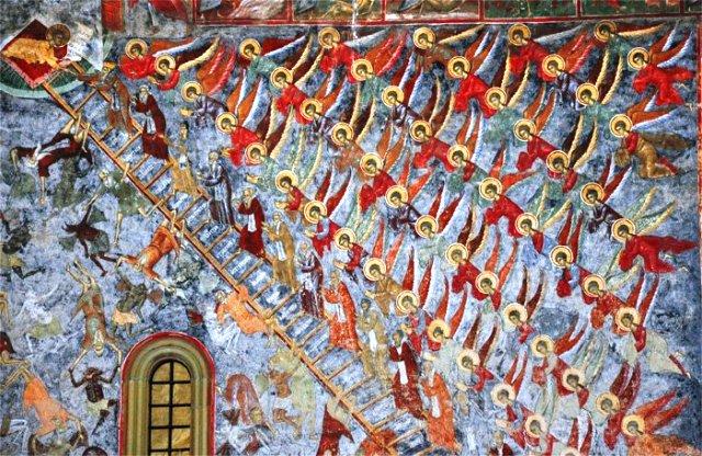 Scara Raiului, Manastirea Sucevita