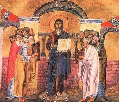 inceputul predicarii Domnului