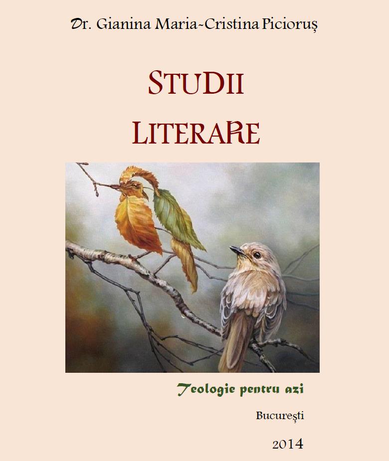 Studii literare (vol. 1)