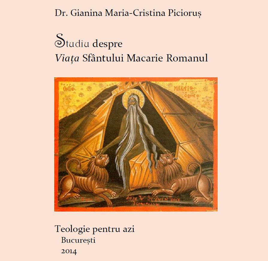 Viata Sfantului Macarie Romanul