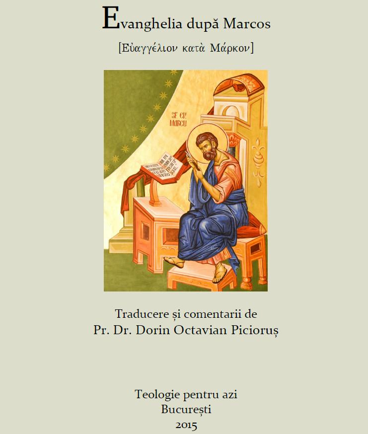 Evanghelia dupa Marcos